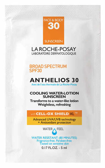Anthelios 30 Cooling Water Lotion Sachet