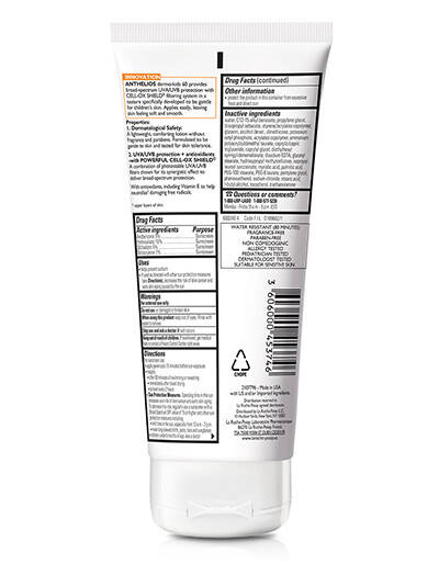 Anthelios Sunscreen for Kids SPF 60 - La Roche-Posay