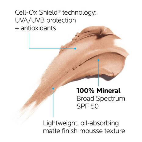 Anthelios Tinted Mineral Tone-Correcting Primer with SPF 50