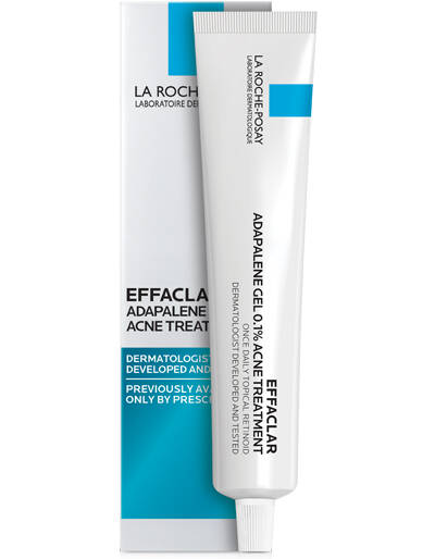 Effaclar Adapalene Gel Topical Retinoid Acne Treatment - La Roche-Posay