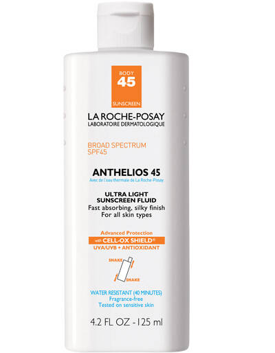 Anthelios Ultra Light Sunscreen Fluid for Body SPF 45
