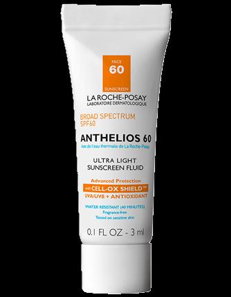 Anthelios 60 Ultra-Light Sunscreen Fluid Deluxe Sample - 3ML