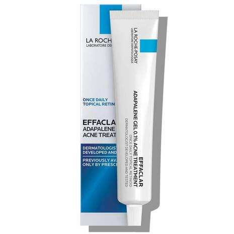 Effaclar Adapalene Gel 0.1% Topical Retinoid For Acne
