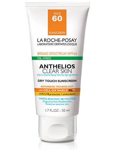 Anthelios Clear Skin SPF 60 Sunscreen La Roche-Posay