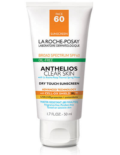 Anthelios Clear Skin Oil Free Sunscreen SPF 60