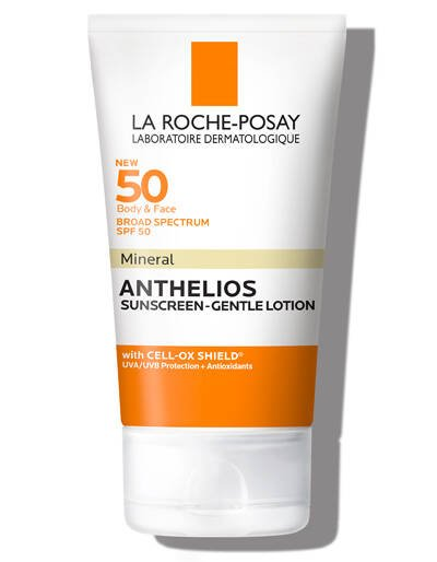 Anthelios SPF 50 Gentle Lotion Mineral Sunscreen