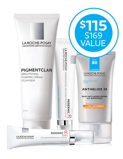 Routine for Wrinkles and Dark Circles - La Roche-Posay