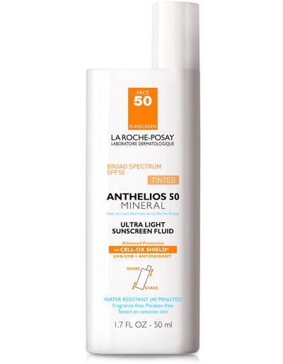 Anthelios Tinted Mineral Sunscreen for Face SPF 50