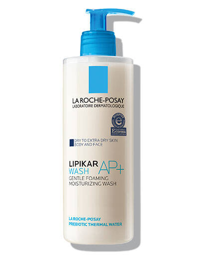 Lipikar Wash AP+  | Moisturizing Face and Body Wash | La Roche-Posay