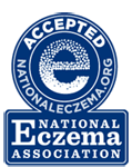 Accepted by the National Eczema Association