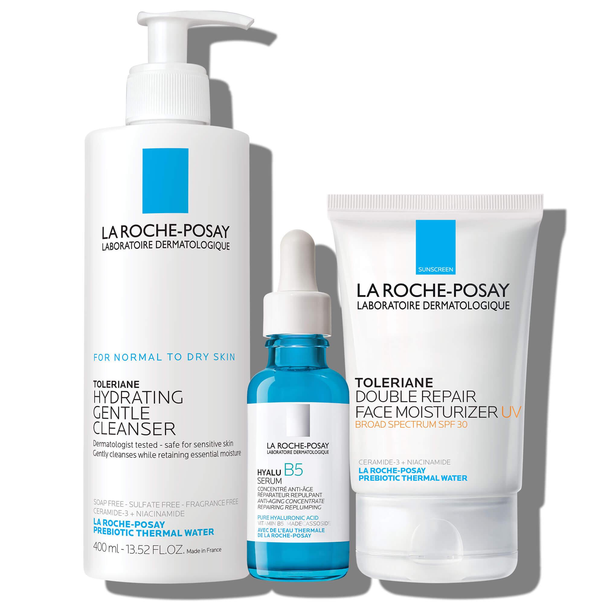 La Roche Posay Dry Skin Routine Set